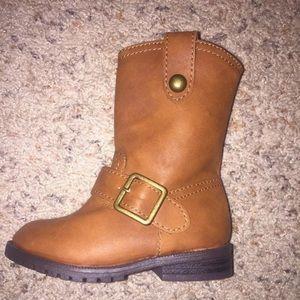 Girl Tan Boots
